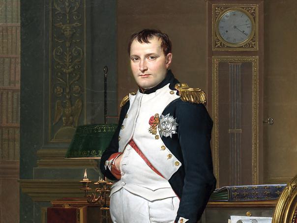 Наполеон Бонапарт у своєму кабінеті в Тюрільі