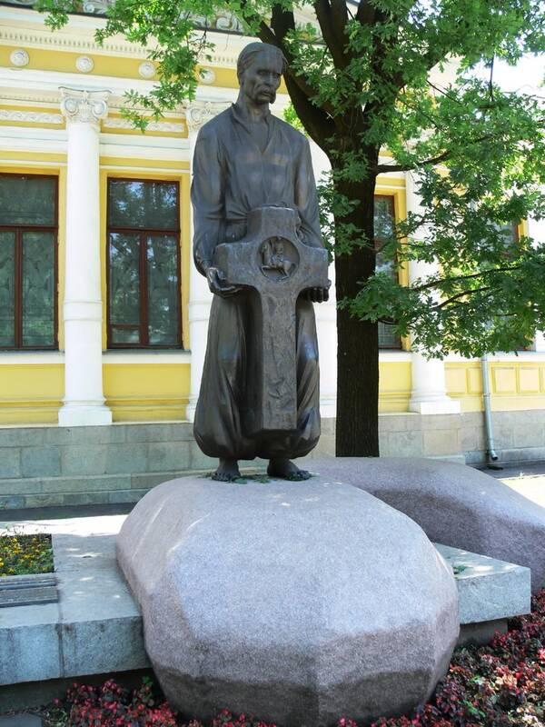 Яворницькому Д.І. пам'ятник - Дніпропетровськ